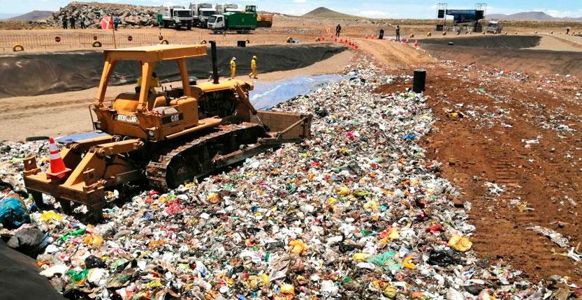 Puno cuenta con primer relleno sanitario certificado para 80 toneladas de basura al día